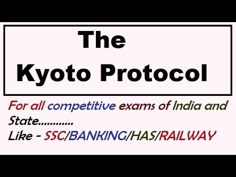 Kyoto protocol in hindi