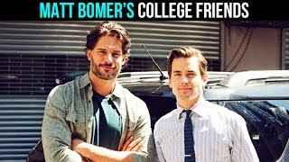 Matt Bomer's (White Collar, Magic Mike) Famous College Friends | MASSIVE TV MINUTE