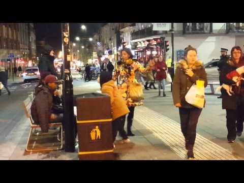 Busking: Gifts in the Public Sphere