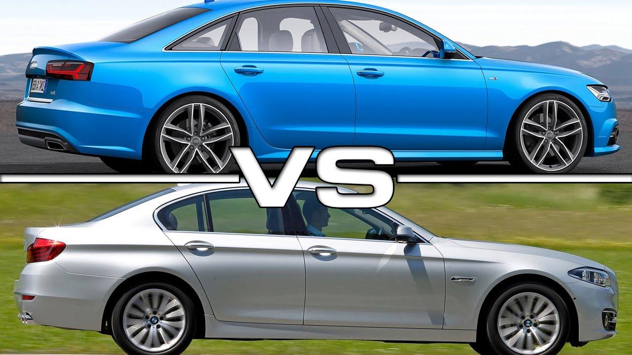 Audi A6 vs BMW 5 Series  YouTube