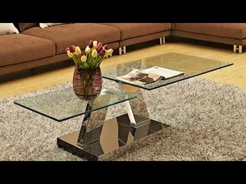40 Table en Verre de Conception Créative des Idées 2017 - Amazing Cadre de Table en Acier