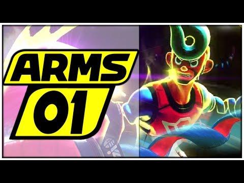 ARMS Part 1: Start in den GRAND PRIX & RING FREI für den CHAMPION