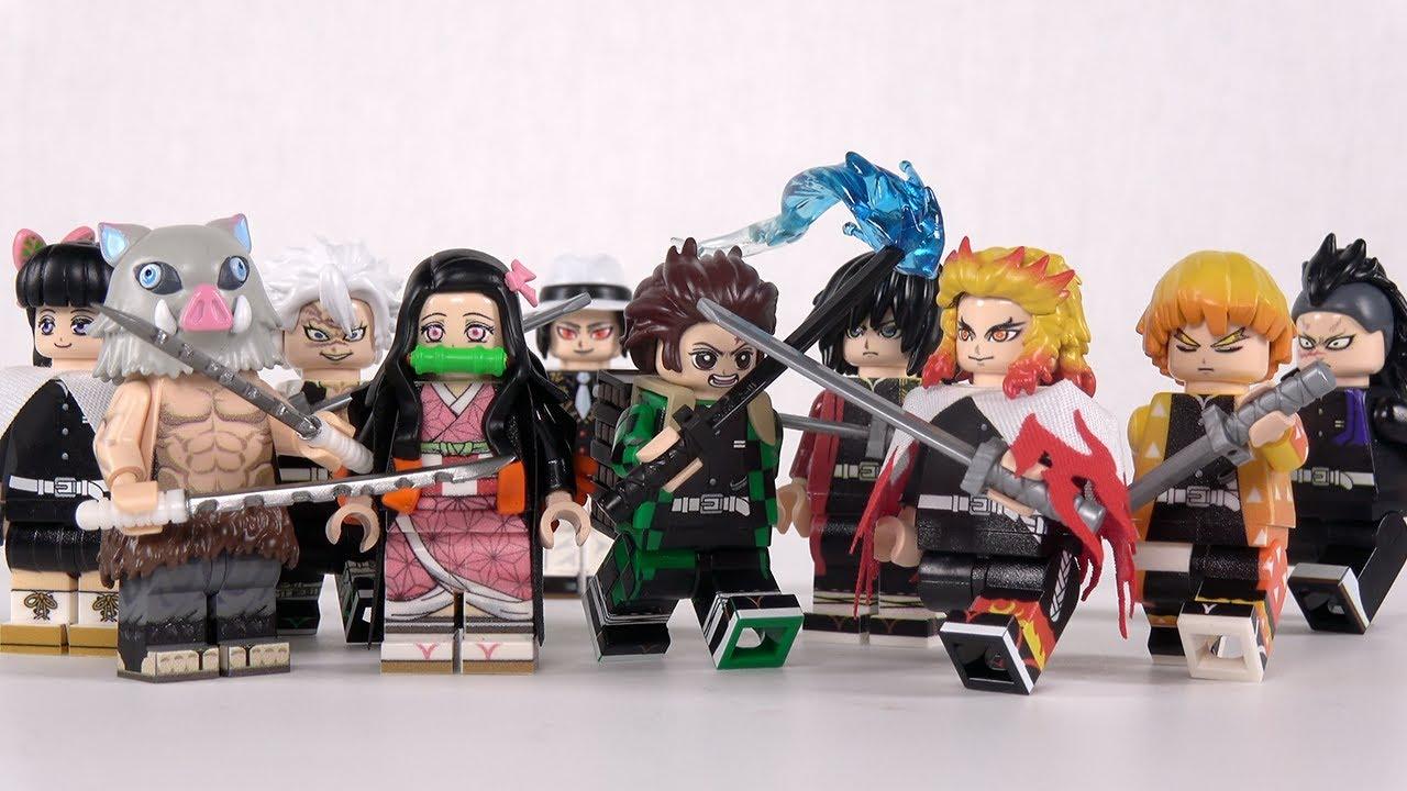 귀멸의 칼날 좋아하는 사람? Feat.하비브릭 (Lego Demon Slayer custom figure)