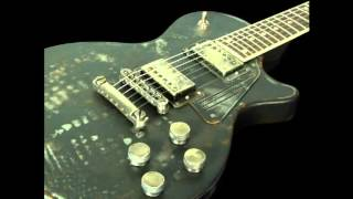 The Day That Never Comes (instrumental cover) -w- Slideshow of James Trussart metal-body guitars.