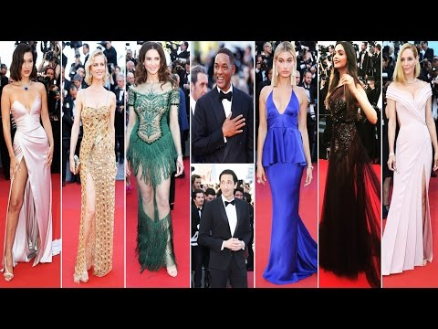 Cannes Film Festival 2017 | Red Carpet Fashion | Opening Day Gala| Celebrity Dresses