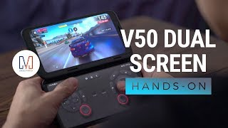 LG V50 ThinQ Dual Screen Unboxing and Hands-on