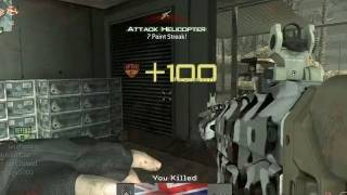 MW3 - PC Gameplay MP5 Rusher Q and A #10