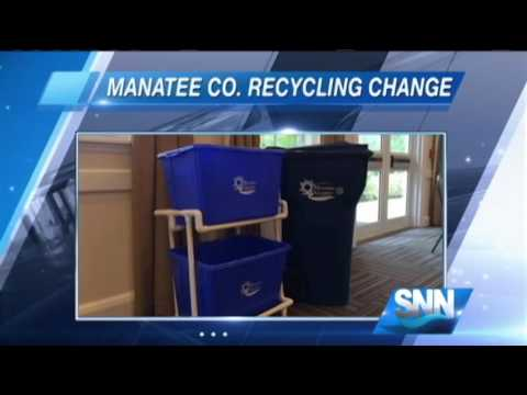 SNN: Manatee County to Begin New Recycling Program in July