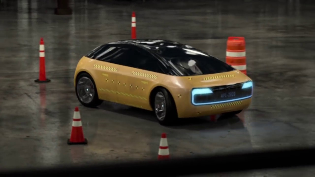 Apple Car Spy Video