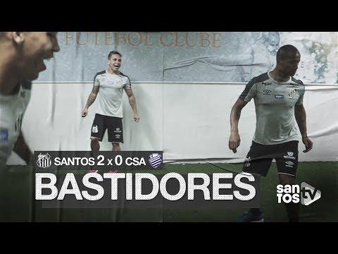SANTOS 2 X 0 CSA | BASTIDORES | BRASILEIRÃO (29/09/19)