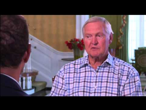 Jerry West  with Bryant Gumbel October 2011