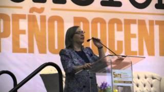 """Conferencia de Sylvia Irene Schmelkes """"Evaluación del desempeño docente en México"""""""