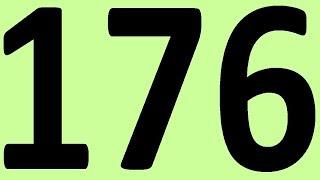 АНГЛИЙСКИЙ ЯЗЫК ДО АВТОМАТИЗМА ЧАСТЬ 2 УРОК 176 УРОКИ АНГЛИЙСКОГО ЯЗЫКА