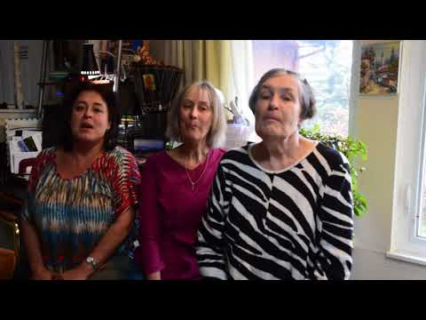 Ira, Natasha and Lana sing Russian Song In the Forge