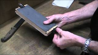 Diy Sandpaper Sharpening Block For Knife Sharpening
