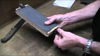 Diy Sandpaper Sharpening Block For Knife Sharpening