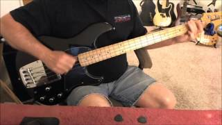 Fastball - The Way - Bass Cover