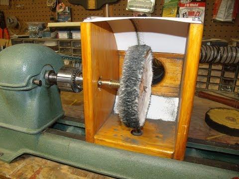 Polishing/Buffing Station for Wood Lathe