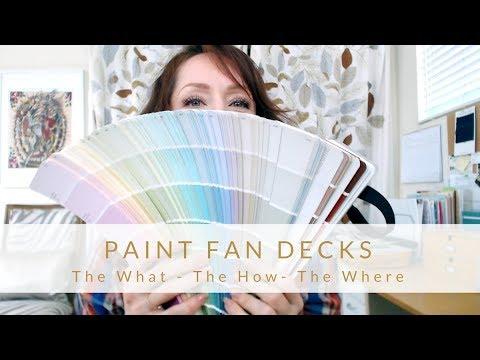 DIY Design - All about Paint Fandecks