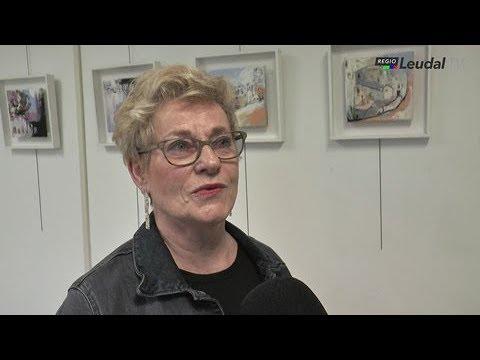 Kunstenares Marianne Bongers Ross exposeert in Atelier 27 Neeritter