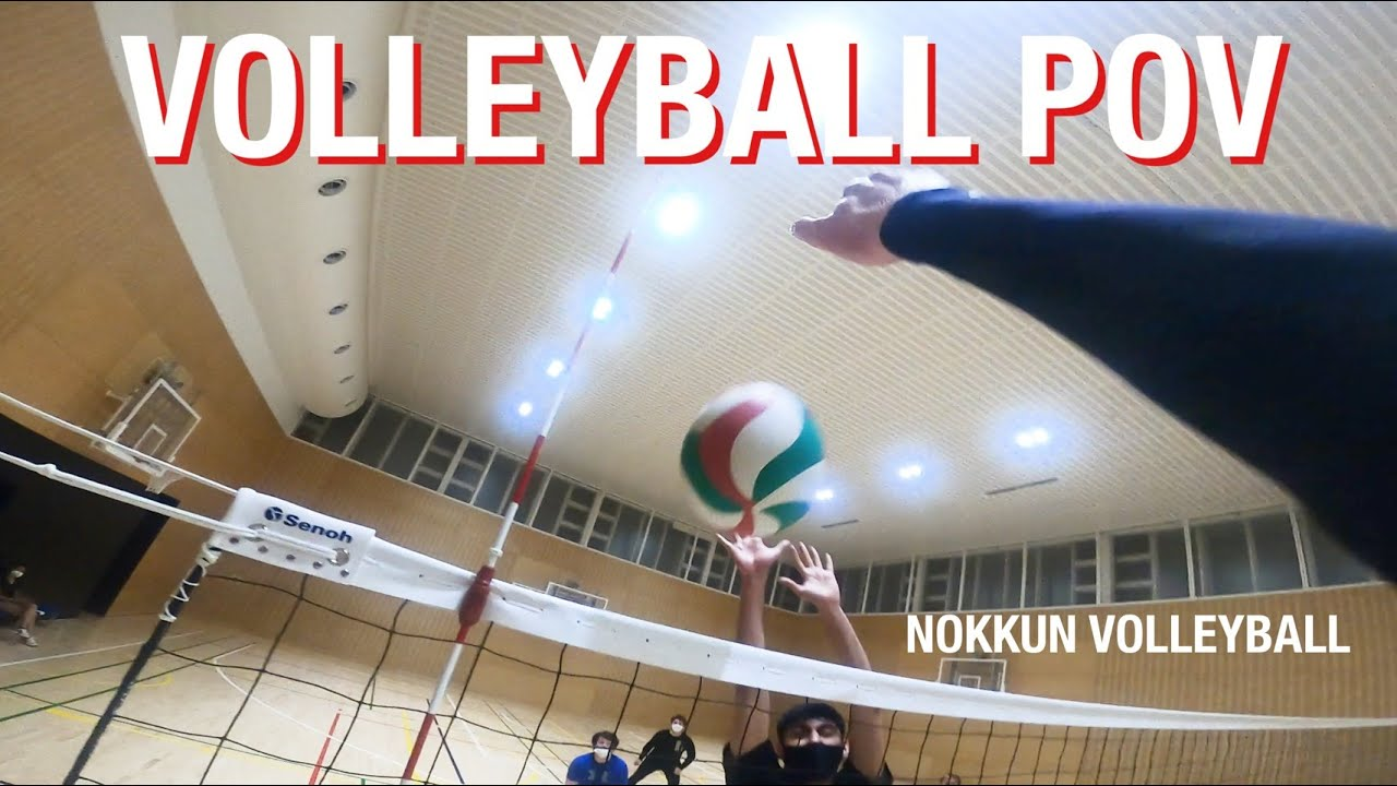 Download GoPro Volleyball #19 Left Wing Spiker POV