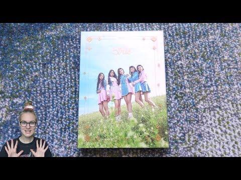Unboxing ELRIS 엘리스 1st Mini Album We, First 우리 처음