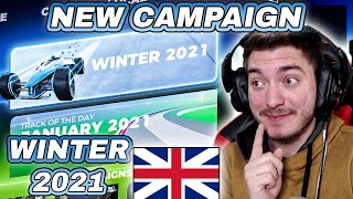 NEW CAMPAIGN ! | English Special Stream | Speedrun Author Medals | WINTER 2021