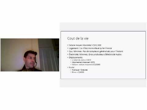 Online Event #2: Parcours et experience d'immigration au Quebec