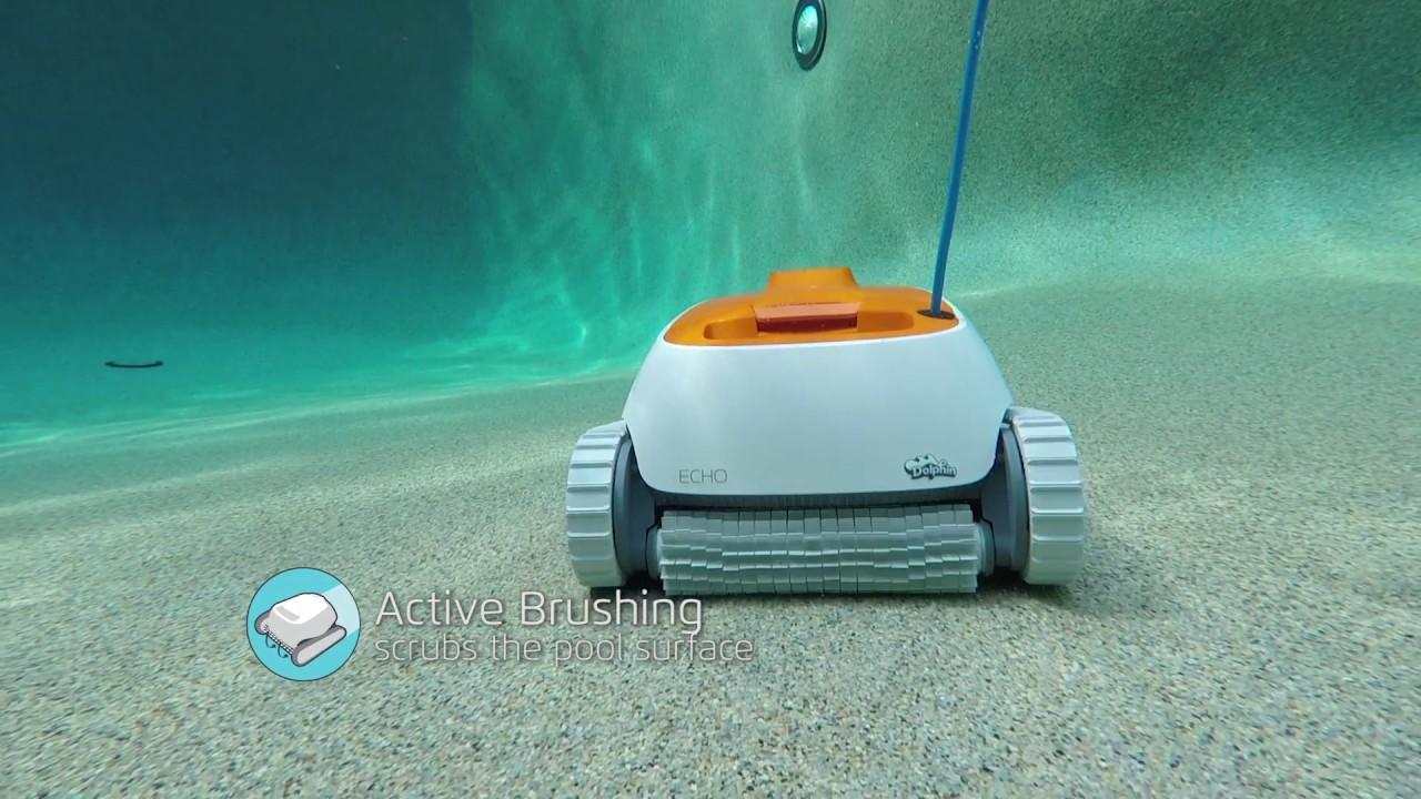 dolphin echo robotic pool cleaner by maytronics - Dolphin Pool Cleaner