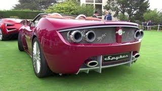 Spyker B6 Venator Spyder Concept at Pebble Beach Concours d'Elegance