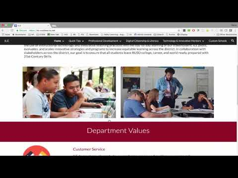 Quick Tip #15-Innovation and Learner Engagement Website