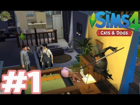 Oh no! -  The Sims 4: Cats and Dogs - Crocodile Gaming |