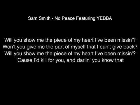 sam smith - peace featuring