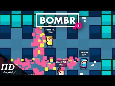 Bombr.io Android Gameplay [1080p/60fps] - 동영상