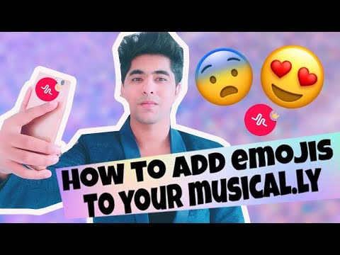 HOW TO PUT EMOJI IN MUSICAL.LY | HOW TO ADD EMOJI IN MUSICAL.LY TUTORIAL IN HINDI