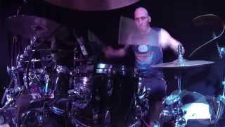 GORGUTS@An Ocean of Wisdom-Live in Vienna-Austria 2014 (Drum Cam)