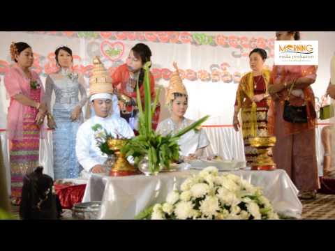 The Traditional Arakanese ( Rakhine ) wedding Ceremony