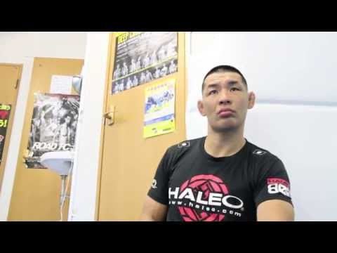 An interview with Riki Fukuda on his title shot at ROAD FC 24 in Japan