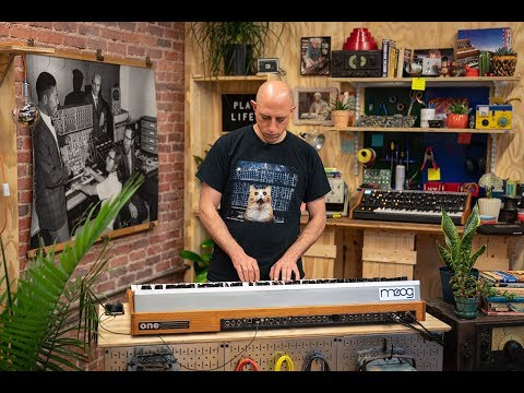 Moog One: Deep Dive - Part 1 (Live from the Moog Factory)