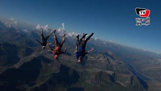 «شادي» مغامر الـ«base jumping»: أتمنى القفز في «مصر»