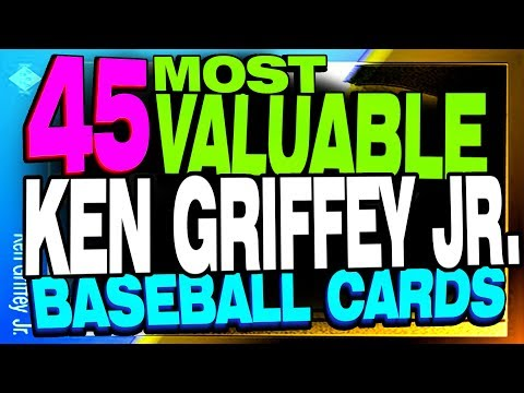 Top 45 Most Valuable Ken Griffey Jr Baseball Cards Rookie Card Value?