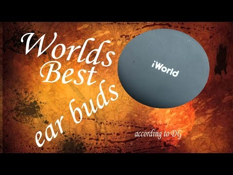 World's Best Ear Buds (according To Dollar General) IWorld GoBuds Review