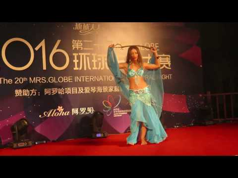 Cultural Night at Mrs Globe 2016 (Mrs Italy)