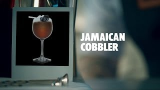 JAMAICAN COBBLER DRINK RECIPE - HOW TO MIX