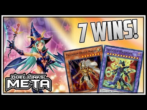 7 Wins In A Row! Grass Quintet Magicians! [Yu-Gi-Oh! Duel Links]