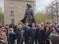 В Петербурге открыли памятник «дочери казахского народа, воспитаннице Ленинграда» Алие Молдагуловой