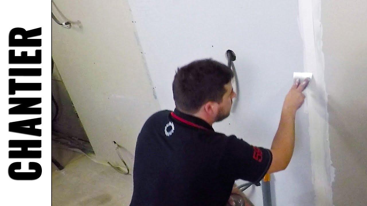 Mes Conseils Pour Preparer Vos Murs Avant De Peindre Sur Du Placoplatre Ratissage Chantierljvs Youtube
