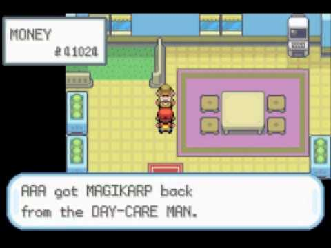 How to Get Gyarados Early and Easily on Pokemon FireRed/LeafGreen!