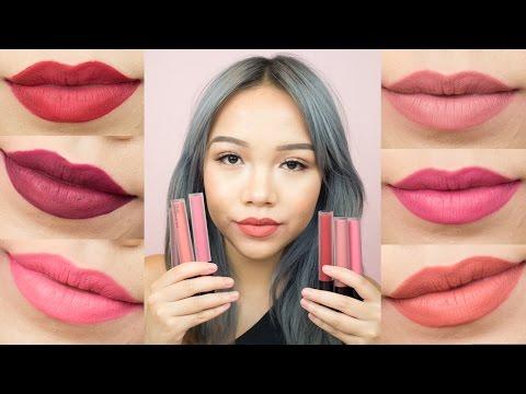 SWATCH & REVIEW #2 | ONE Liquid Matte Lip color 6...