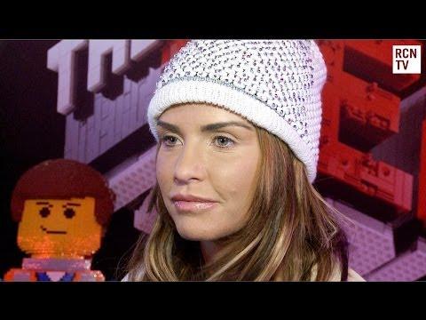 Katie Price Interview The Lego Movie UK Premiere